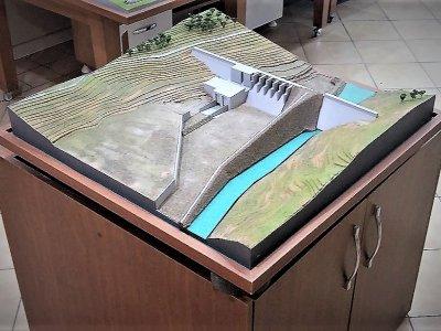 BARAJ MAKETLERİ SULAMA ARITMA TESİSİ baraj maketi yapalar termik santral maketleri enerji maketi mimari endüstriye maketler