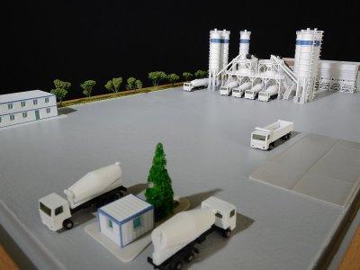 ankara maketçi maket atölyeleri mimari maket yapan firmalar baraj hes maketi BETON SANTRALİ çimento fabrikası baraj maketleri yapan firmalar